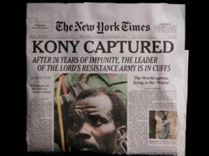 I titoli di giornale al mio ritorno dall'Uganda